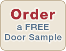 Order a FREE Door Sample